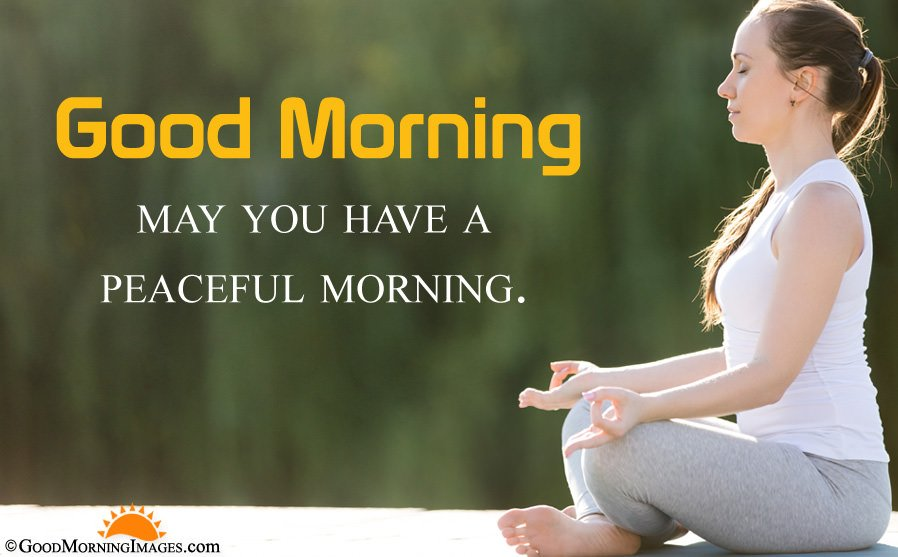 Full HD Good Morning Peaceful Sms Greeting Image In HD Size