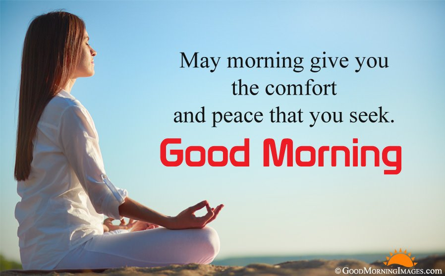 Full HD Picture With Peaceful Good Morning Message