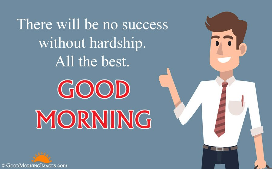 Good Morning All The Best Quote With Full HD Animated Wallpaper