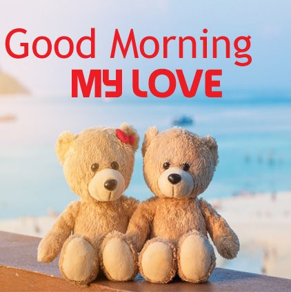 Good Morning Cute Love DP Image