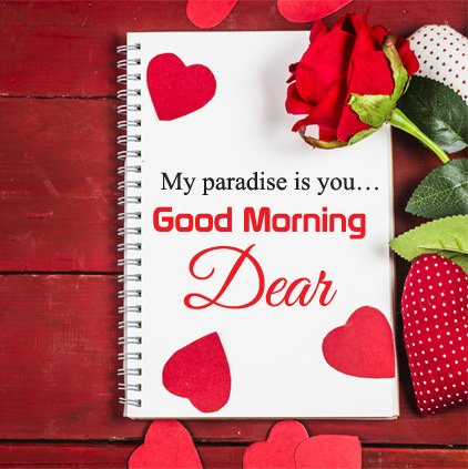 Good Morning Dear Love Image Picture