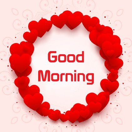 Good Morning Heart Love Image