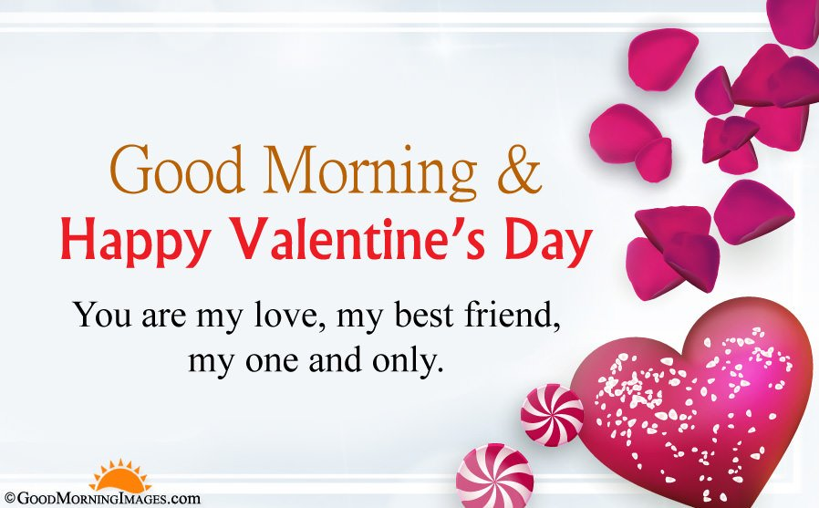 Good Morning Love Wishes For Valentine Day With HD Picture