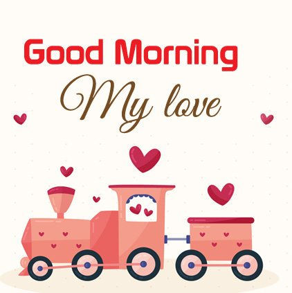 Good Morning My Love HD Image Wallpaper