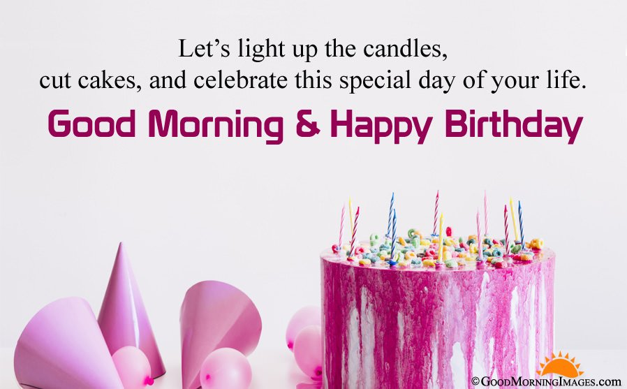Happy Birthday Good Morning Wishes For Friend