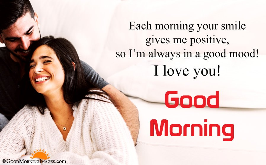 I love You Good Morning Wishes With Full HD Image
