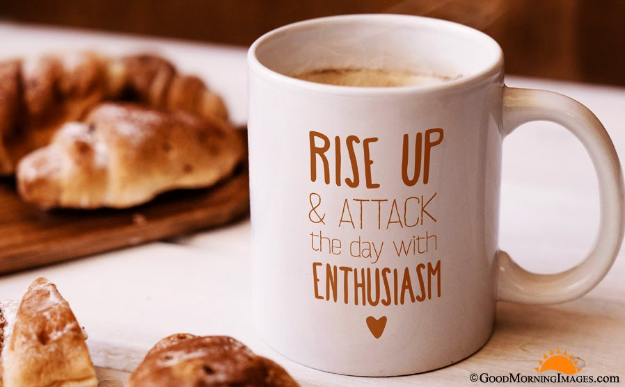 Inspirational Coffee Mugs Quote With HD Wallpaper