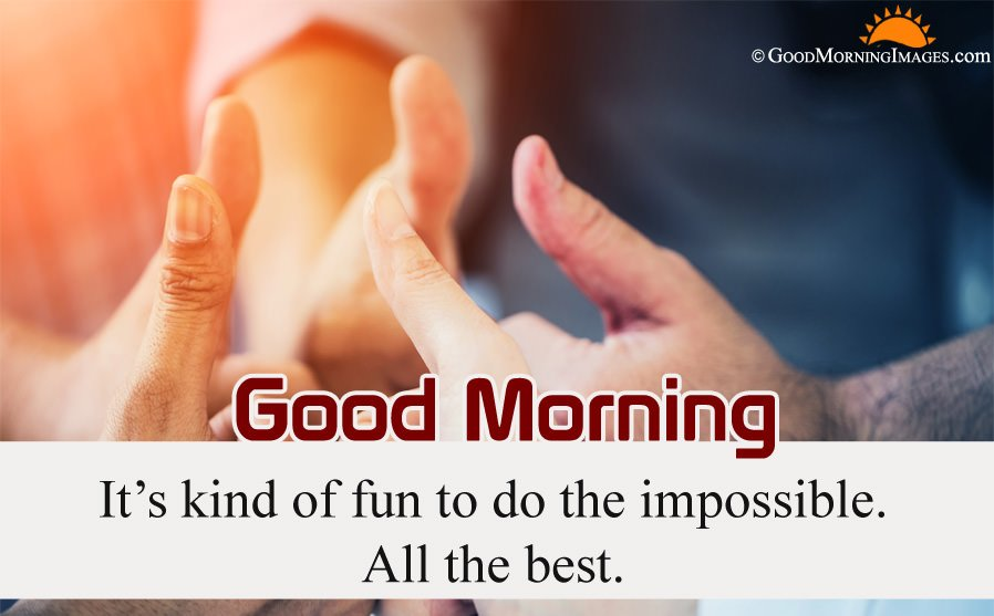 Latest All The Best Good Morning Wishes Quote With Full HD Wallpaper