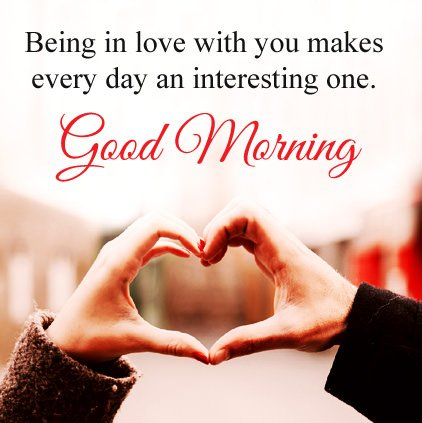 Latest Good Morning Love Wishes DP Image