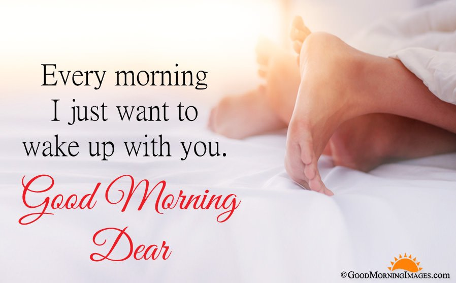 Most Romantic Good Morning Love Hd Image With Message