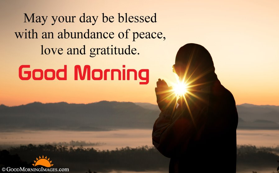 Peaceful Good Morning Sms Message With HD Picture