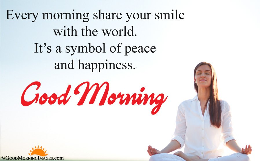 Peaceful Good Morning Wishes Image