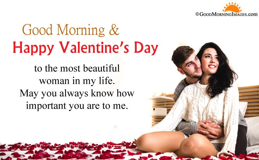 Romantic Good Morning Valentine Day Sms Message With Full HD Picture