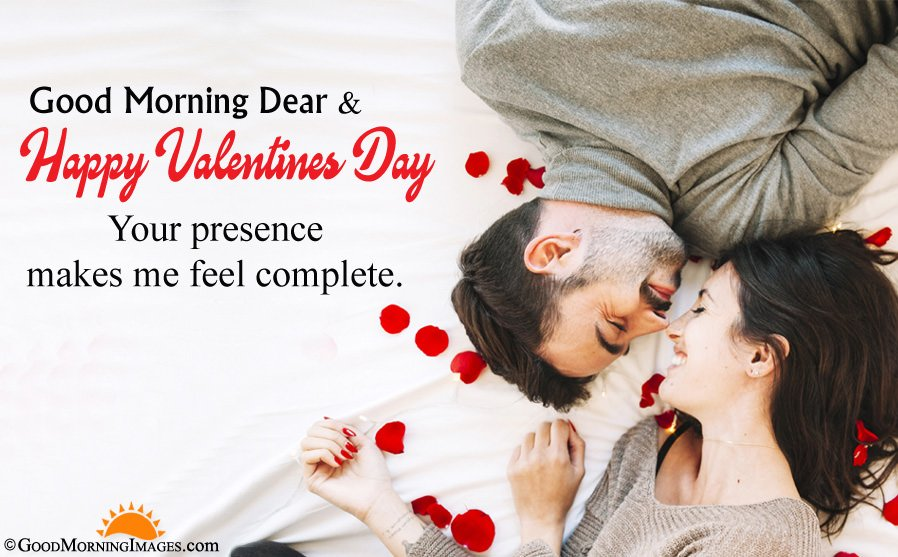 Romantic Good Morning Valentine Wishes For Love With Full HD Wallpaper