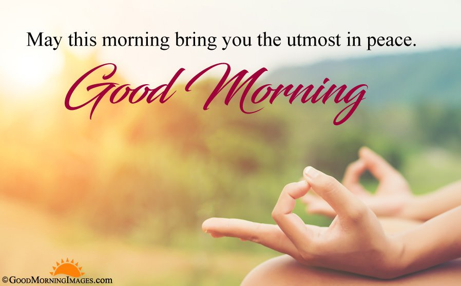Short Peaceful Good Morning Wishes With Full HD Image