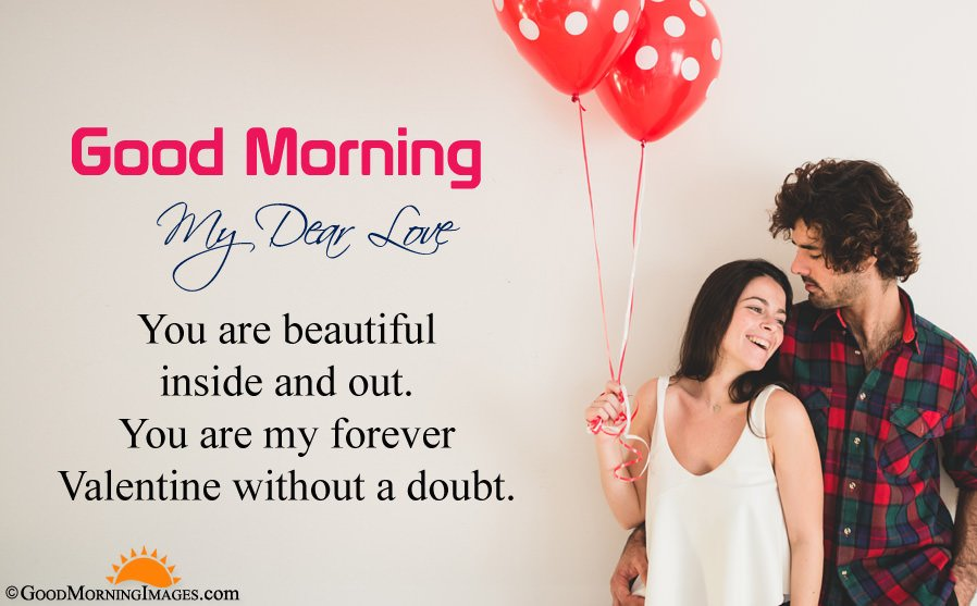 Sweet Love Good Morning Valentine Day Message With Hd Image