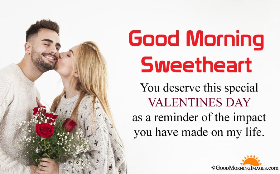 Valentine Day Good Morning Wishes For Gf Bf With Full HD Image