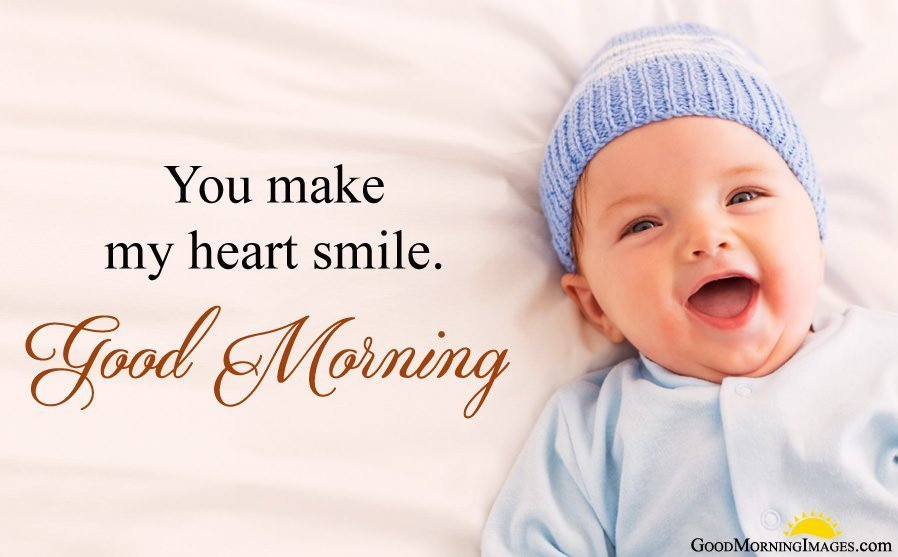 Cute Baby Images for Morning