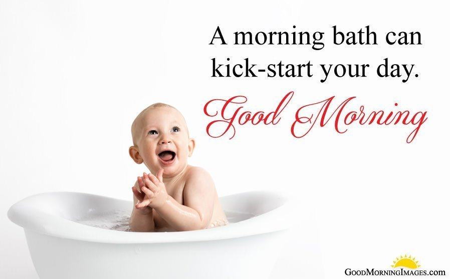 Cute Funny Good Morning Baby Quotes