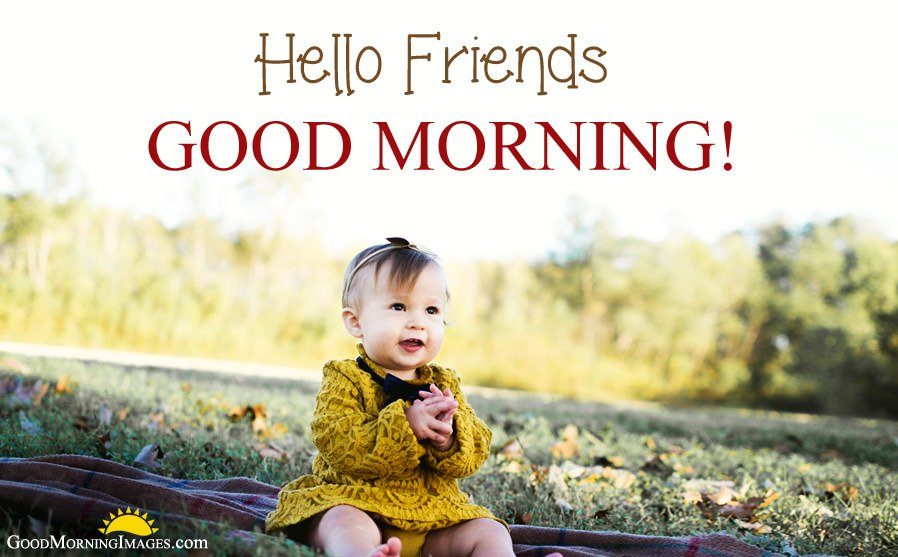 Good Morning Baby Wishes Images