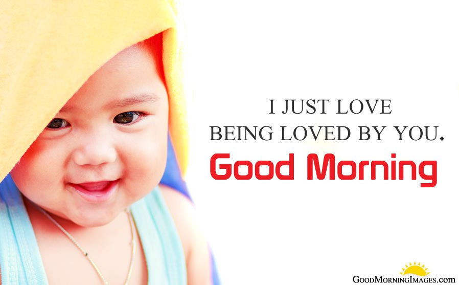 Love Text Good Morning Baby Photo