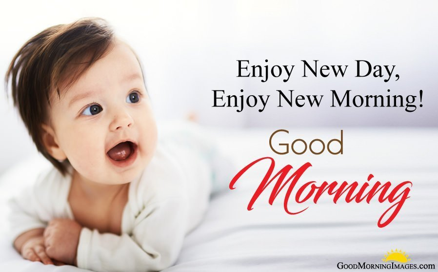 New Day New Morning with Lovely Baby Pictures
