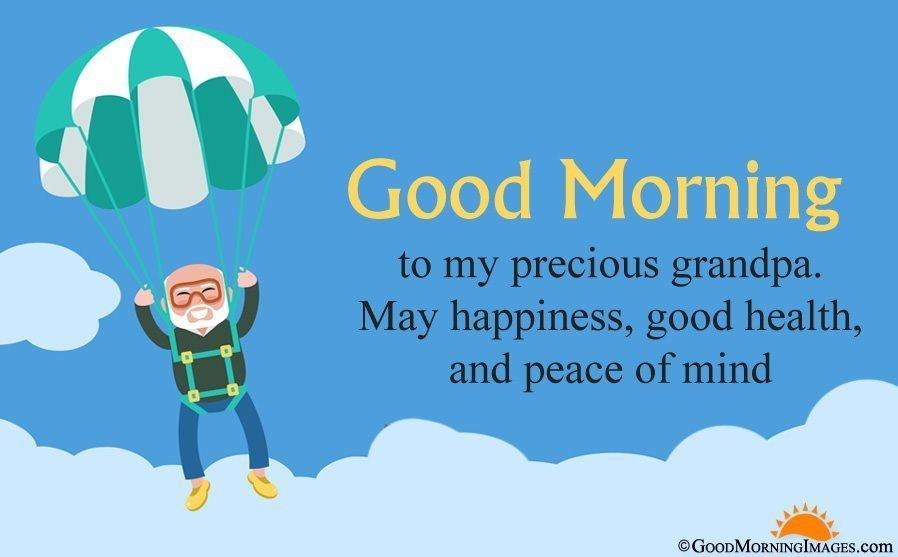 Good Morning Blessings for Grandpa