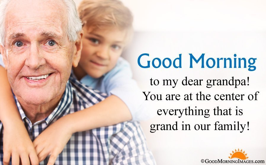 Grandfather and Family Bonding Sayings Images