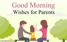 Good Morning Wishes for Parents