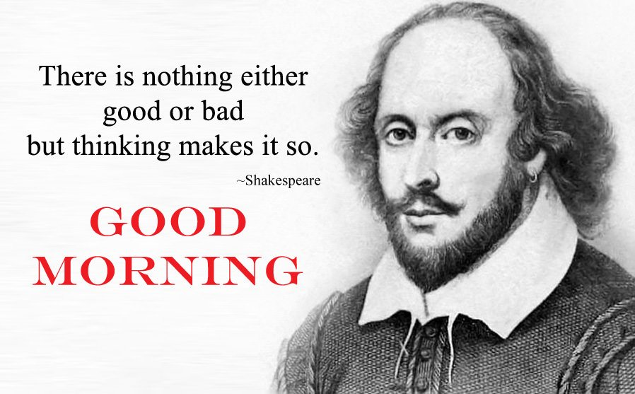 Shakespeare Morning Quotes with Images