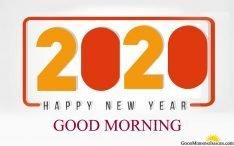 2020 Happy New Year Good Morning