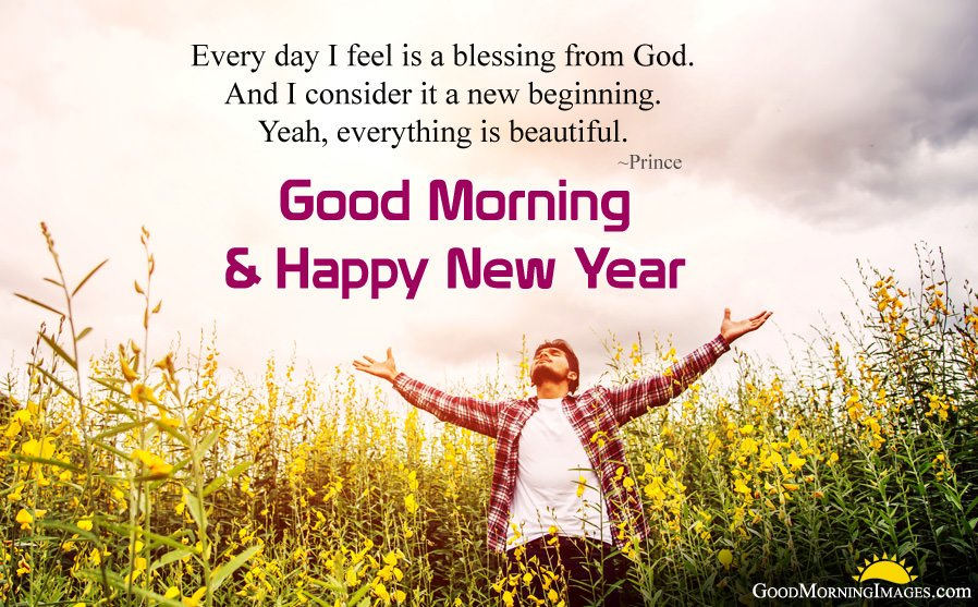 Good Morning Blessings for New Year