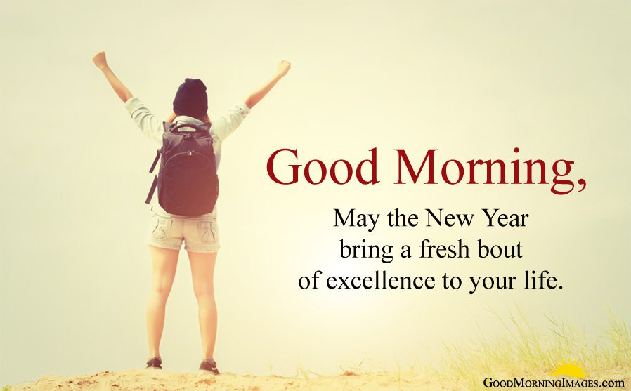 Good Morning New Year Quote About Life