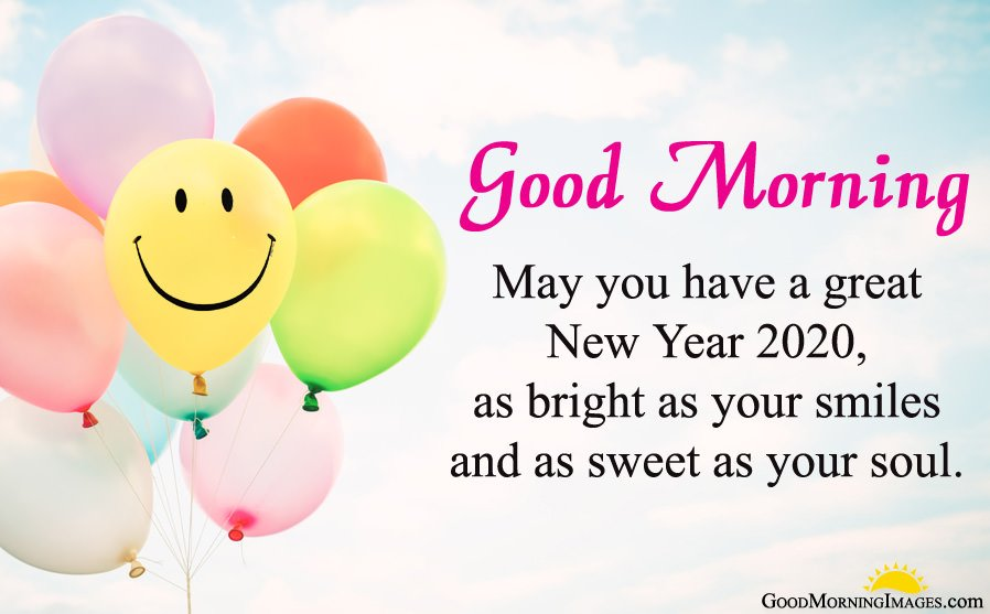 Good Morning Wishes for New Year 2020