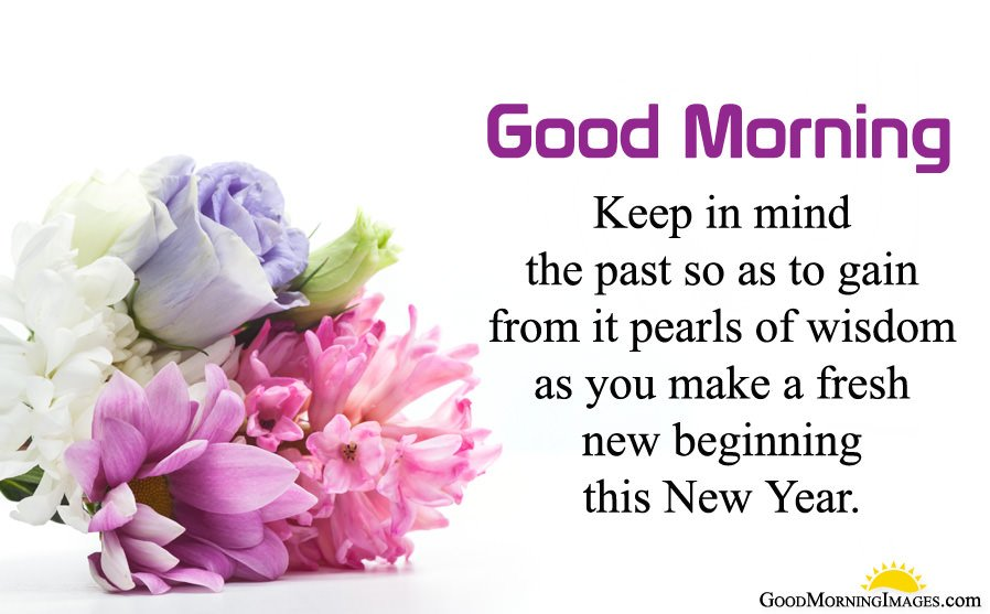 Inspirational New Year Good Morning Messages