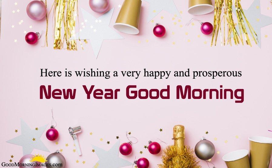 New Year Good Morning
