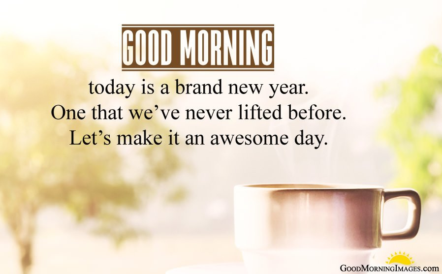 New Year GoodMrng Images