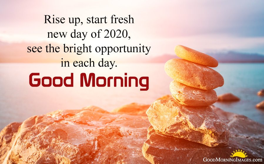 Start Fresh New Day of 2020