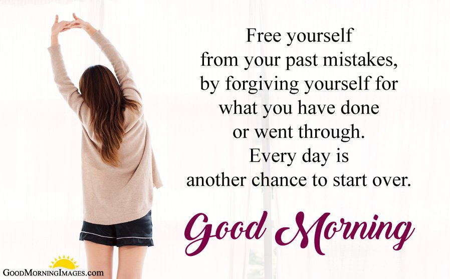 Another Chance to Start New Life Morning Quotes