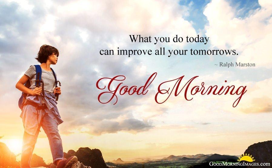 For Better Future Good Morning Motivating Status