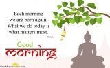 Motivational Good Morning Quotes By Buddha