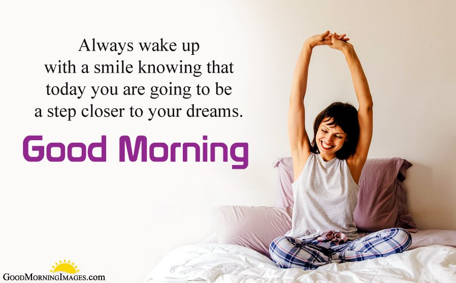 Wake with Smile GM Status Images