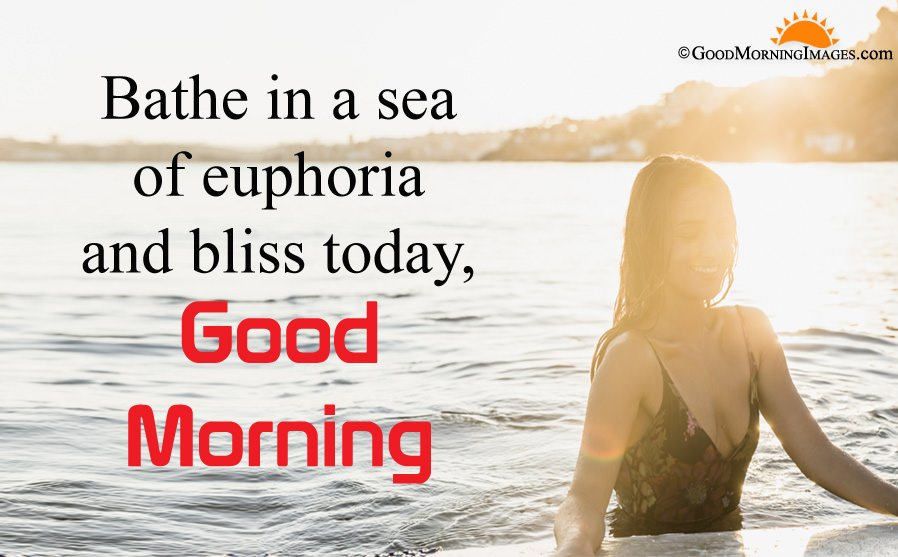 Bathe in Sea Quotes for Morning
