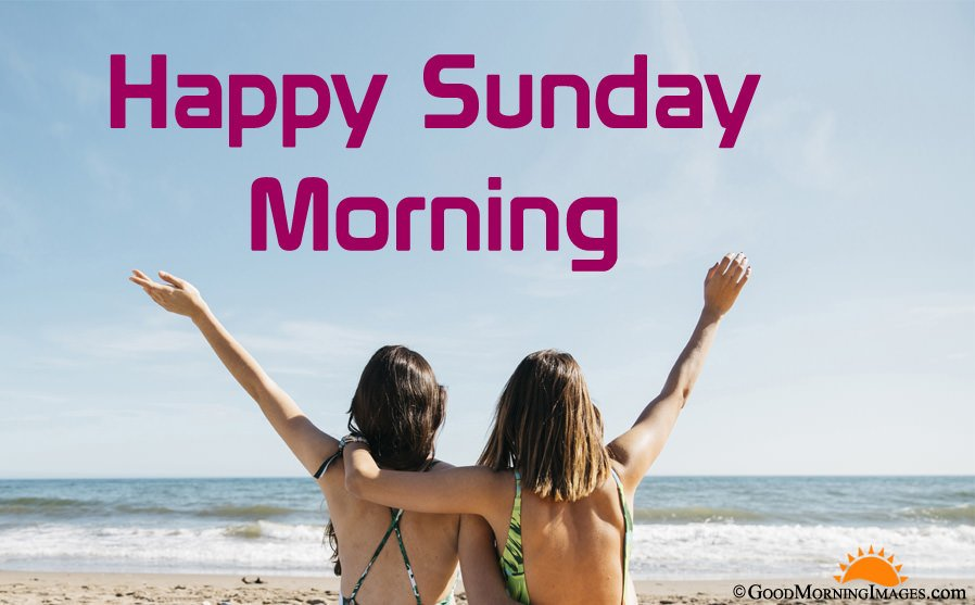 Happy Sunday Morning Images for Girls