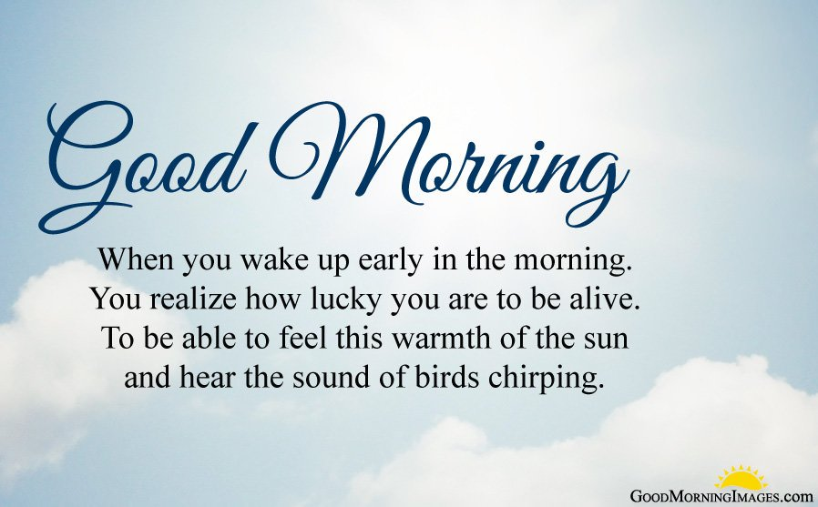 Early Morning Wishes with Images