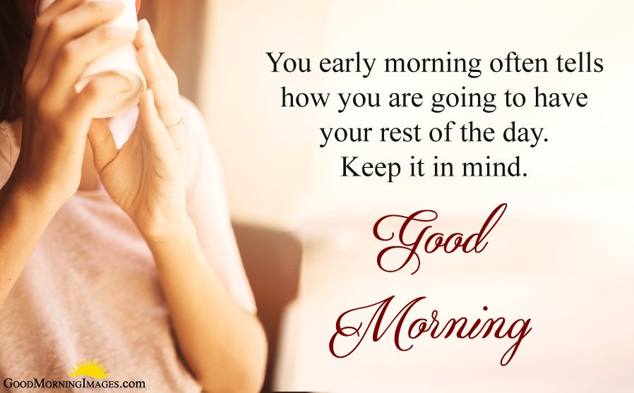 Early Morning Wishes