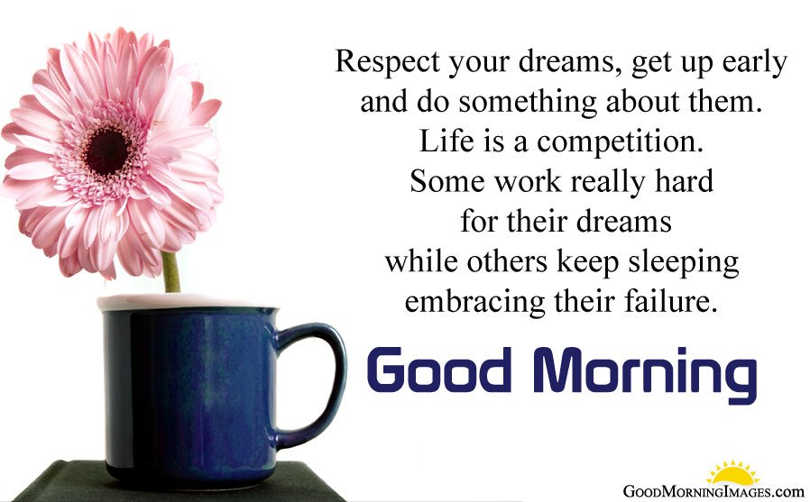 Motivational Early Morning Wishes