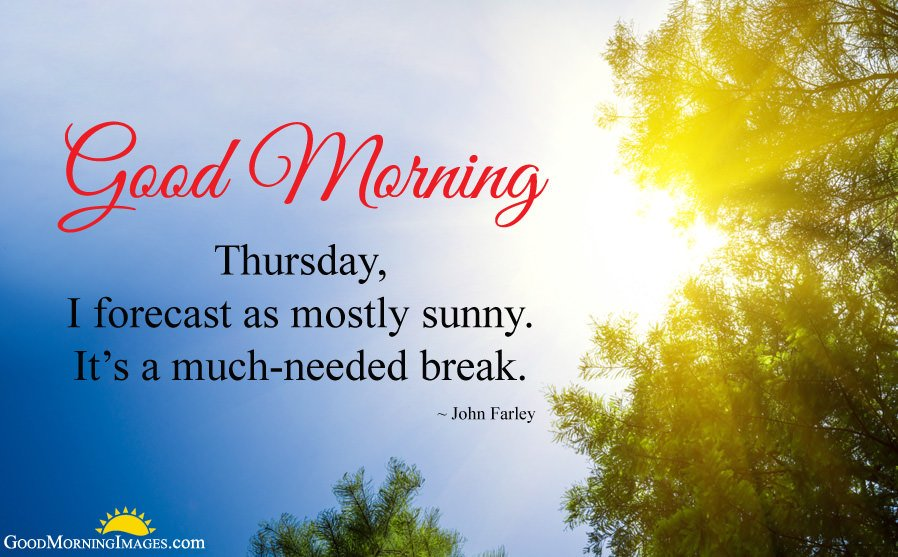 Good Morning Thursday Quotes with Images