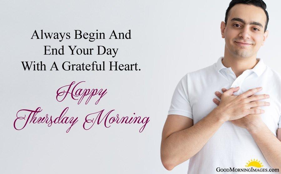 Happy Thursday Good Morning Message