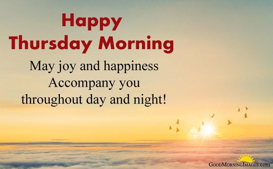 Happy Thursday Morning